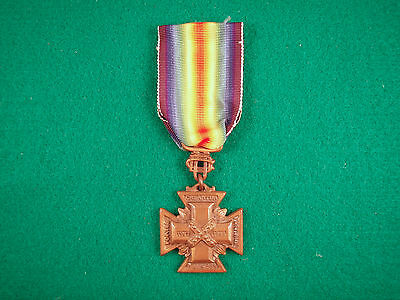 Original UDC United Daughters of Confederacy WWI Cross of Military Service Named