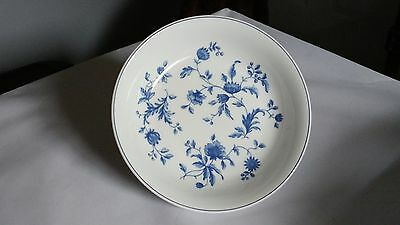 """Wedgwood Home Line Mikado Blue Flowers 8"""" Coupe Soup / Cereal Bowl (s)"""