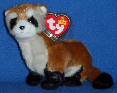 fd1898d455a TY SHILOH the FERRET BEANIE BABY - INTERNET EXCLUSIVE WWF - MINT with MINT  TAG
