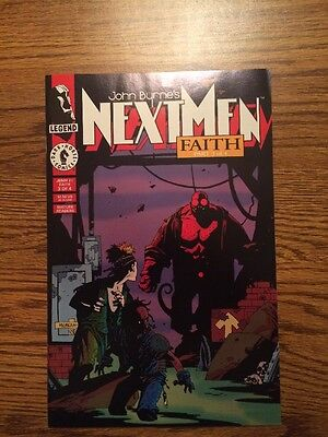 John Byrne's Next Men 21 NM+ First App Hellboy High Grade 1993 Nice!!!