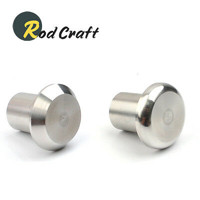 Rodcraft Stainless Steel Endcap (Butt Cap) for Rod Building(SSPER/SSPES)