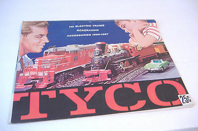 ~Tyco Ho Electric Trains Roadracing Accessories 1966-1967 Catalog~