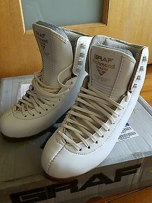 RRP $850 NEW GRAF Richmond Special Figure / Ice Skates 4M