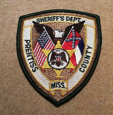MS Prentiss County Mississippi Sheriff Patch