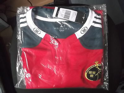 Munster Home Rugby Union Shrt 2Xl Size Adidas Make