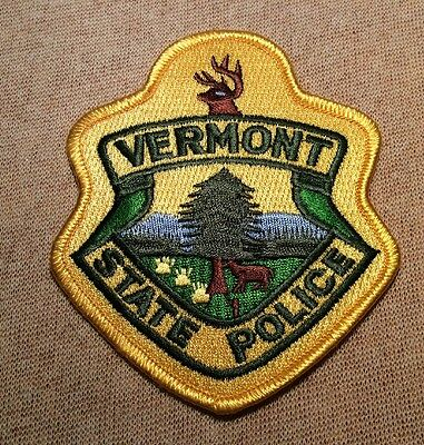 VT Vermont State Police Patch