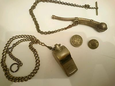 Bosuns whistle,military whistle, buttons
