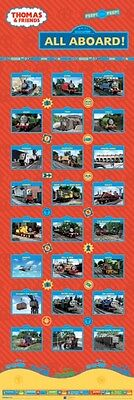 """Thomas The Tank Engine Door Poster """"1.5 Meter Tall"""" Licensed """"brand New"""""""