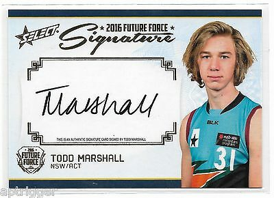 2016 Future Force Gold Signature (FFGS1) Todd MARSHALL Port Adelaide 004/200