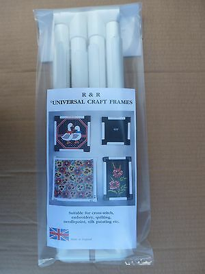 """R & R Craft Frames 17""""x17""""  Clip Hand Frame- cross stitch/embroidery/quilting"""