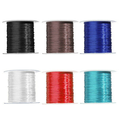 0.5mm10M DIY Elastische Stretch String Thread Schnur Bastelperlen Armband-Schnur