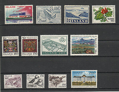 Island Lot Stamps Mnh  Perfect