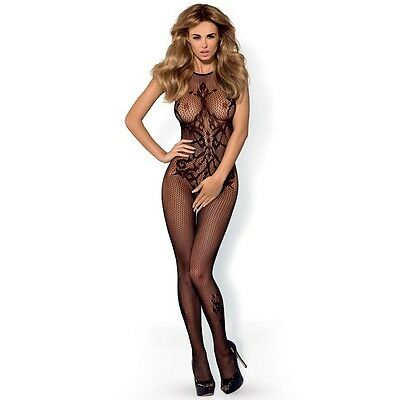 Obsessive Bodystocking G308 Gr. S / M / L Catsuit Schwarz |56