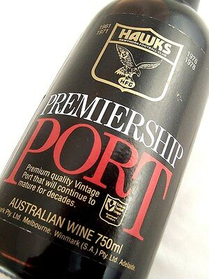 1978 HAWTHORN HAWKS Premiership Vintage Port FREE SHIP A Isle of Wine