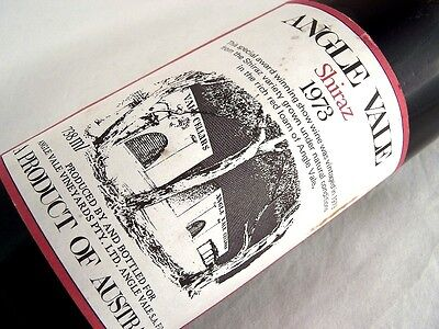 1973 ANGLE VALE Shiraz Isle of Wine