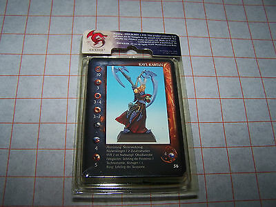 Rackham Confrontation Alchemists of Dirz Kayl Kartan (French Card, New, OOP)