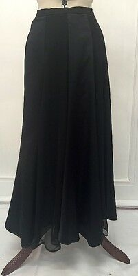 Dance Skirt Frank Usher Satin And Shear Ball Midi Ankle witch