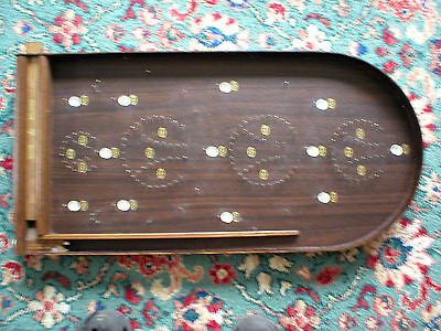 Collection only. Corinthian Masters Bagatelle. Spring loaded / metal balls. Wood