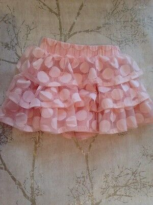 Girls Pink Tu Tu Skirt Age 6-9 Months