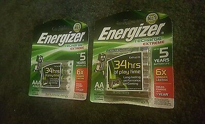 Energizer Rechargeable battery aaa + aa size