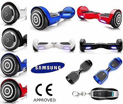 Electric Scooter Self Balancing Board Red Blue White Black Hover Scooter Swegway