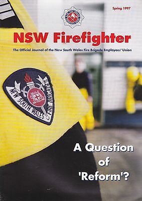 New South Wales (Australia) Firefighter Journal - Spring 1997