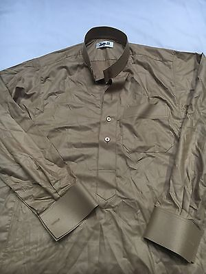 Men's Light Brown Jubba Size 56 Large As-seal New No Tags