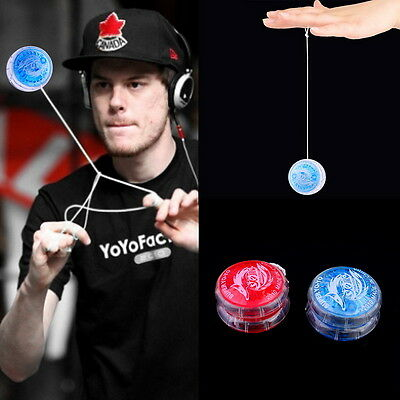 Flashing LED Glow Light Up YOYO Party Colorful Yo-Yo Toys For Kids Toys Gift CK