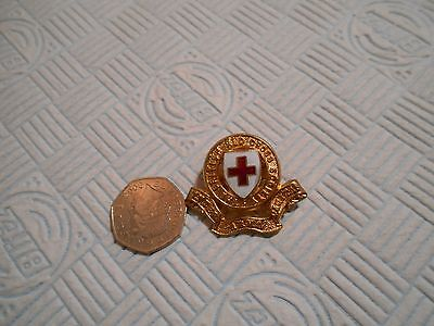 British Red Cross Society badge with 2 bands