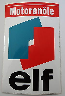 Aufkleber elf Motorenöle Renault R5 R4 Sticker Autocollant Youngtimer Decal