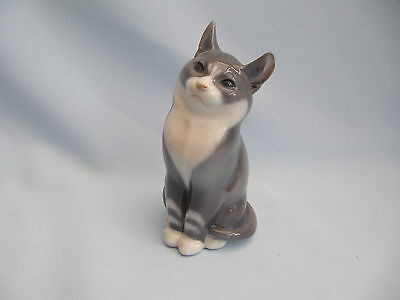 LOVELY ROYAL COPENHAGEN GREY CAT MODEL No 1803