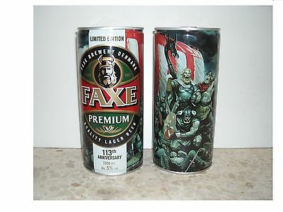 LIMITED EDITION-113th ANNIVERSARY-FAXE EMPTY- BEER CAN-1LITER FROM CYPRUS MARKET