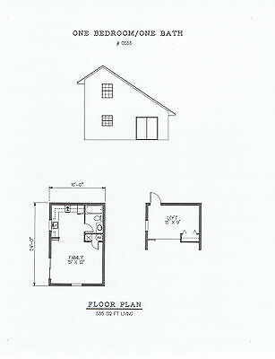 555 square foot one bedroom house plan