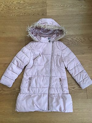 Next Girls Coat Age 5-6