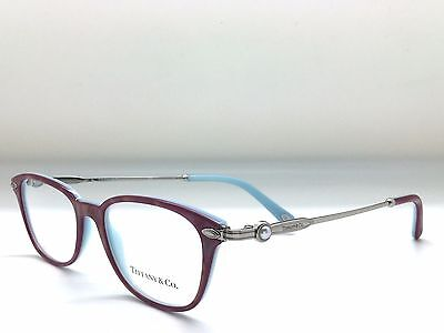 *new Authentic* Tiffany & Co. Tf2096H 8184 Shot Red/blue Eyeglass Frame