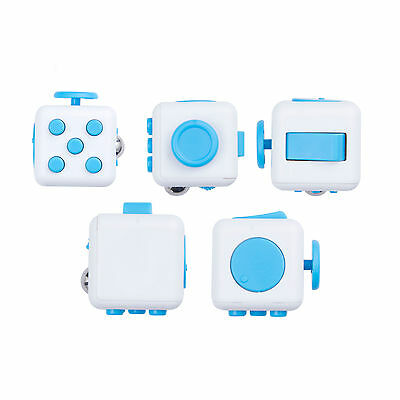 Blue IN STOCK NEW 2016 FIDGET CUBE STRESS ANXIETY RELIEF 6 SIDED DESK TOY USA