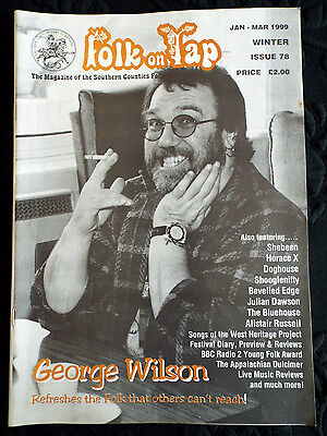 Folk on Tap - George Wilson cover Magazine Winter 1999 Shebeen Horace X Doghouse