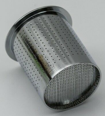Steel container with holes sieve mesh for cleaning jar clean watch parts craft