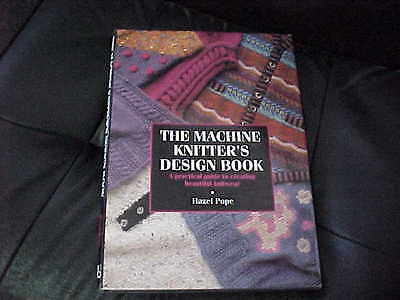 Machine Knitters Design Book-Hazel Pope Excellent Book! A Knitters Must Have