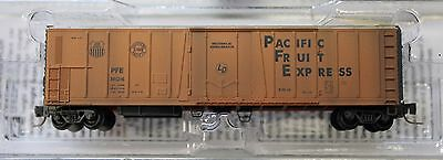 Z Scale MICRO-TRAINS LINE 549 44 010 PACIFIC FRUIT EXPRESS 51' Weathered Reefer