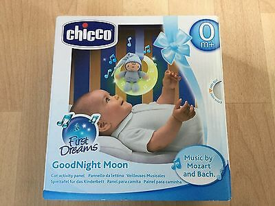 NEW Chicco GoodNight Moon BLUE Baby Night Light With Music
