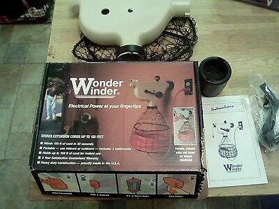 Extension lead tidy winder