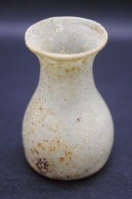 Ancient Roman Glass Perfume/oil Bottle 1St - 4Th Century Ad