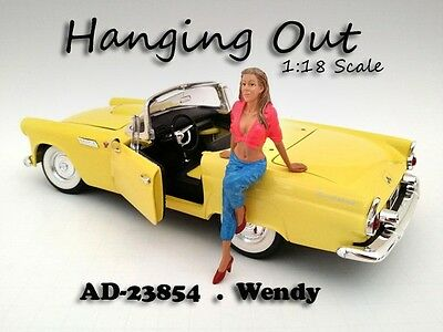 Hanging Out - Wendy - 1/18 scale figure/figurine - AMERICAN DIORAMA