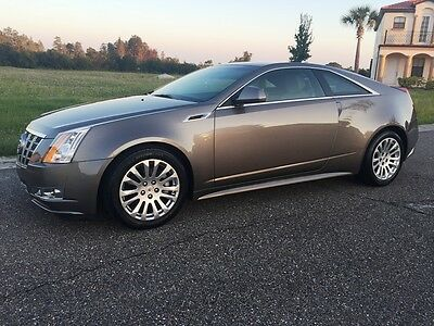 2012 Cadillac CTS Performance Coupe 2012 Cadillac CTS Performance Coupe Fully Loaded LOW 6400 Miles esclade xts srx