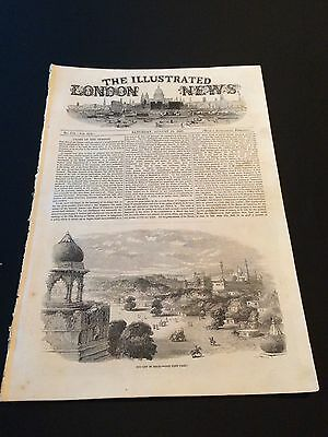 """Original """"The Illustrated London News"""" Saturday August 29th 1857 (16 Pages)"""