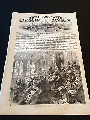 "Original ""The Illustrated London News"" Saturday 5th December 1857 (24 Pages)"