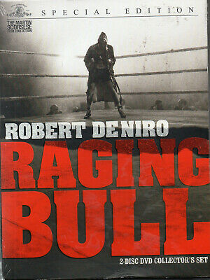 Raging Bull (DVD, 2005, 2-Disc Set, Collectors Edition) New