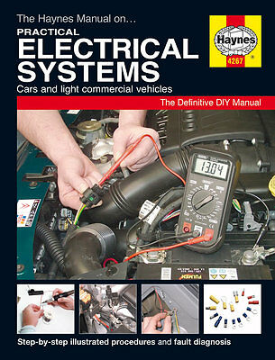 Practical Electrical Haynes Manual DIY Car Electrics 4267 NEW
