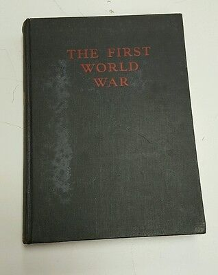The first world war, A Photographic history by Laurence Stallings, 1933.